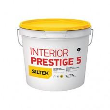 Фарба Siltek Interior Prestige 5 латексна оксамитово-матова. База А (4,5 л)